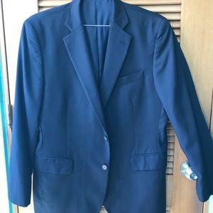 Stafford Black Men Suit